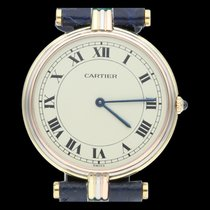 Cartier Trinity Or jaune 30mm Champagne Romains