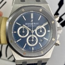 Audemars Piguet Royal Oak Chronograph Platin 41mm Blau Schweiz, Roveredo