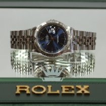 Rolex Datejust Turn-O-Graph occasion 37mm Bleu Date Acier
