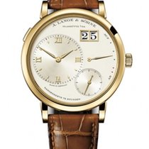 A. Lange & Söhne Yellow gold Manual winding Silver new Grand Lange 1