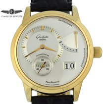 Glashütte Original PanoReserve Yellow gold 39.4mm Silver United States of America, Georgia, Atlanta
