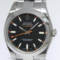 Rolex Milgauss Steel 40mm Black No numerals United States of America, Florida, 33431