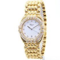 Chopard Gstaad Yellow gold 31mm White