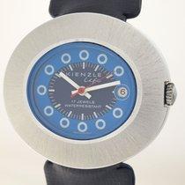 Kienzle gebraucht Handaufzug 43mm Blau Plexiglas