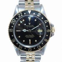 Rolex GMT-Master Acero y oro 40mm Negro