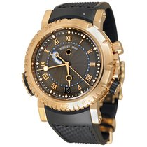 Breguet Marine Rose gold 45mm Grey Roman numerals United States of America, New York, Greenvale