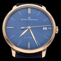 Girard Perregaux Or rose 41mm Remontage automatique 49527-52-431-BB4A occasion Belgique, Brussel