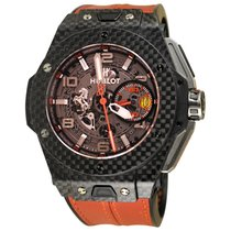 Hublot Big Bang Ferrari Carbon 45mm Transparent Arabic numerals United States of America, New York, Greenvale