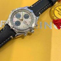 Breitling Weißgold Automatik Perlmutt 40mm gebraucht Chronomat