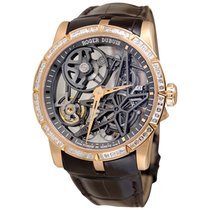 Roger Dubuis Excalibur Rose gold 42mm Transparent No numerals United States of America, New York, Greenvale