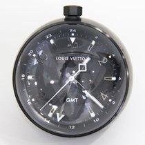 Louis Vuitton Steel 65mm Quartz Q1Q000 pre-owned