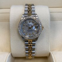 Rolex 69163 Gold/Steel 1997 Oyster Perpetual Lady Date 26mm pre-owned United States of America, Texas, Dallas