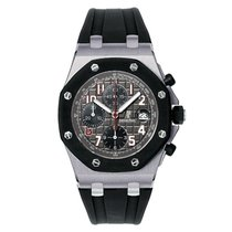 Audemars Piguet Tantalum Automatic Grey 42mm new Royal Oak Offshore Chronograph
