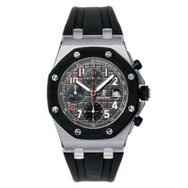 Audemars Piguet Тантал Автоподзавод Cерый 42mm новые Royal Oak Offshore Chronograph