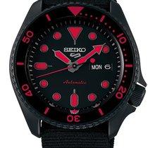 Seiko 5 Sports Steel 42.5mm Black