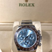 Rolex Platinum Automatic Black No numerals 40mm new Daytona