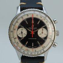 Breitling Acero Cuerda manual Blanco 37mm usados Chronomat
