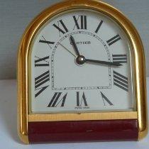 Cartier Bronze Quarz Weiß Römisch 87mm gebraucht