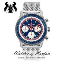 Breitling Navitimer 1 B01 Chronograph 43 new Automatic Watch with original box and original papers AB01212B1C1A1