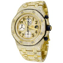 Audemars Piguet Yellow gold Automatic Arabic numerals 42mm pre-owned Royal Oak Offshore