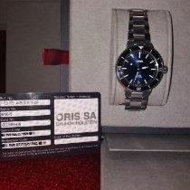 Oris Aquis Date Acier 36.5mm Bleu France, PARIS