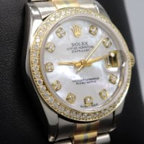Rolex Datejust Ouro branco 31mm Bronze