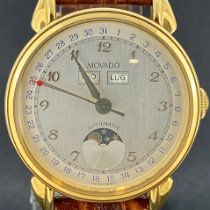 Movado Or jaune 34mm Remontage automatique 40 b1 881 occasion