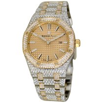 Audemars Piguet Gold/Steel Royal Oak 33mm pre-owned United States of America, New York, NEW YORK CITY