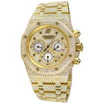 Audemars Piguet Yellow gold Automatic No numerals 39mm pre-owned Royal Oak Chronograph