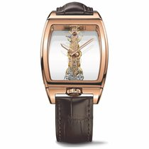 Corum Golden Bridge 113.160.55/0002 0000 Novo Ruzicasto zlato Automatika