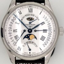 Longines Master Collection Steel 44mm White Roman numerals United States of America, New York, New York