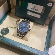 Rolex Datejust II Acier 41mm Bleu France, Rosny-sous-Bois