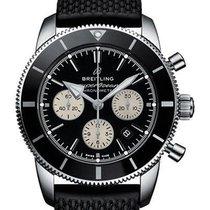Breitling Superocean Héritage II Chronographe Acero 44mm Negro