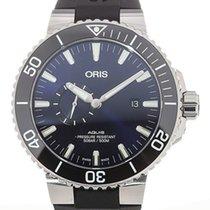 Oris Aquis Small Second Steel 46mm Blue