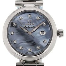 Omega De Ville Ladymatic 425.32.34.20.57.003 New Steel 34mm Automatic