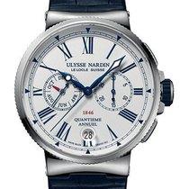 Ulysse Nardin 1533-150/E0 Сталь 2020 Marine Chronograph 43mm новые