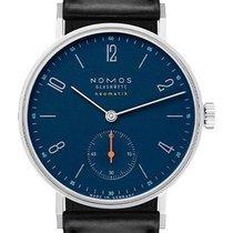 NOMOS Tangente Neomatik Acier 35mm Bleu