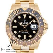 Rolex GMT-Master II Oro rosado 40mm Negro
