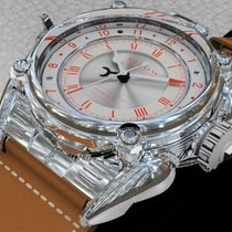 Strom Silver 48mm Automatic AC19-01.AG new