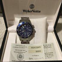 Wyler Vetta 鋼 石英 9001 新的