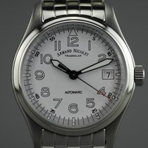 Armand Nicolet Steel 37mm Automatic A9090A2-AG-M9060 new