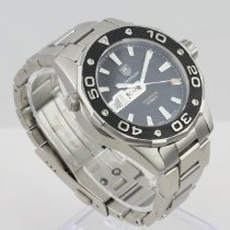TAG Heuer Aquaracer 500M Steel 43mm Black No numerals United States of America, Colorado, Denver