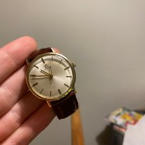 Omega Yellow gold 35mm Manual winding 1211 pre-owned