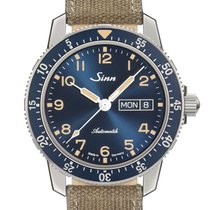 Sinn 104 Steel 41mm Blue Arabic numerals
