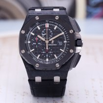 Audemars Piguet Royal Oak Offshore Chronograph Керамика 44mm Черный Aрабские