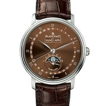 Blancpain Villeret Quantième Complet White gold Brown United States of America, Florida, North Miami Beach
