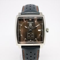 TAG Heuer Steel Automatic 37mm pre-owned Monaco Calibre 6