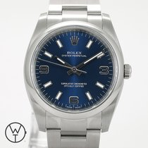 Rolex Oyster Perpetual 34 neu 2019 Automatik Uhr mit Original-Papieren 114200