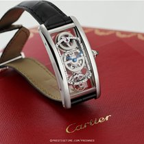 Cartier Tank (submodel) Tank Cintree Skeleton LIMITED pre-owned