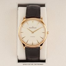 Jaeger-LeCoultre Rose gold Automatic Champagne 41mm pre-owned Master Ultra Thin